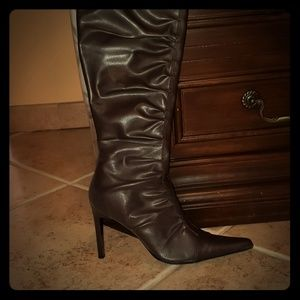 Charlotte Russe Chocolate Boots